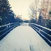 Taking a walk (2012newborn) Tags: winter snow square squareformat walden winterinholland iphoneography instagramapp uploaded:by=instagram