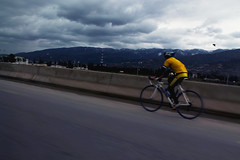 Speed (Reda Ait Saada) Tags: voyage travel sky bicycle speed canon eos algeria route voyager algerie vélos vitesse 1100d