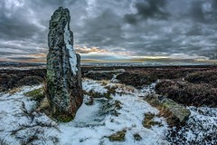 Ancient Sentinel (metrisk) Tags: uk sunset landscape moors northyorkmoors northyorkshire stonecircle grosmont bridestones eskvalley bridestone sleightsmoor greatbritishlandscapes