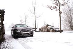 S5 Cabriolet (AutoSpotterQVS) Tags: snow canon eos sneeuw ferrari turbo 1855mm audi bos supercar almere cabriolet s5 almerestad v6turbo 1100d