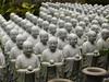 Jizō statues, Hasedera Temple, Kamakura, Japan