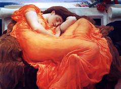 Flaming June, by Frederick Lloyd Leighton (Northshore School of Art) Tags: flamingjune fredericklloydleighton