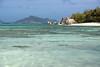 DSC_2381b La Digue, Seychelles: Anse Source d'Argent (wanderlust  traveler) Tags: ocean africa blue sea panorama nature landscape island rocks paradise palmtree tropical seychelles ladigue torquoise