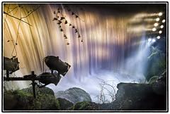Curtain (Mandlenkhosi) Tags: electric night dark landscape scotland waterfall nikon sigma falls spotlight glen burn roukenglen sigma1020mm rouken sigma1020 auldhouseburn d5100 nikond5100 electricglen electricglenlightingfestival