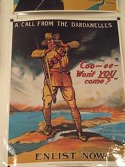 Australian World War I Poster (Five Starr Photos ( Aussiefordadverts)) Tags: worldwari australianarmy goldcoastwarmuseum australiaatwar
