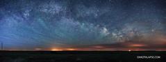 Milky Way Panorama (dakotalapse) Tags: southdakota way astrophotography milky milkyway dakotalapse