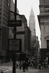 Chrysler Building from 5th Ave. & 42nd St.