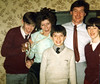 Martin, Margaret, Edward and Veronica 1980s