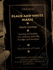 Black and White Magic by Marie Laveau (101) [mobile phone pics] (PHH Sykes) Tags: white black marie magic laveau