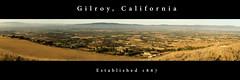 The City of Gilroy (Daniel Sabsay) Tags: california ca city morning light panorama sunrise garlic gilroy