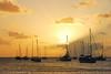 Golden light (Travnet.) Tags: sunset sea sky sunlight boats zonsondergang zee boten caribbean stmaarten zon hemel sintmaarten dutchcaribbean caribisch travnet dubbauphotography caribischnederland