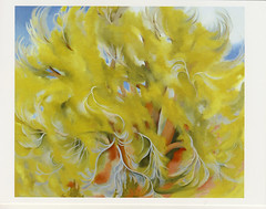 Cottonwood Tree in spring, 1943 by Georgia O'Keeffe (postcardlady1) Tags: cottonwoodtree georgiaokeeffe