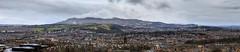 Panorama in Edinburgh, UK (maipatana) Tags: uk panorama canon landscape scotland edinburgh cityscape 85mm panoramic telephoto 7d tele mm usm f18 18 85 moutain ef ef85mmf18usm canonef85mmf18usm canoneos7d canon7d