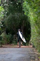 Oahu - Heading Home (Christopher Lane Photography) Tags: ocean vacation beach water beautiful bike bicycle landscape hawaii paradise surf waves oahu surfer gorgeous wave surfing northshore surfboard tropical lush hangten banzaipipeline silpada bucketlist