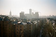 moscow (f x d b b b t) Tags: skyline kodak russia iso400 moscow contax portra t2 2013