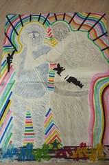 (M,VAL) Tags: pasteup poster couleurs papier affiche bic pochoir posca