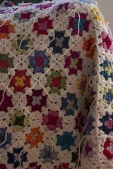 Small grannies (Veracrochet) Tags: crochet blanket smallgranny