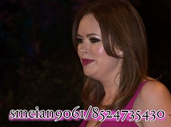 Tanya Burr (iron_smyth48) Tags: pink red portrait woman white celebrity film smile face female hair carpet glamour eyes dress event actress earrings premiere celeb