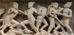 Madhya Pradesh (nicnac1000) Tags: sculpture india statue stone temple sandstone vishnu indian carving unescoworldheritagesite unesco worldheritagesite mp hindu khajuraho madhyapradesh chattarpur lakshmana historicindia bundelkhand 10thcentury northindian chhatarpur chandela yashovarman 950ad vaikunthavishnu