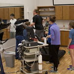 "<b>Physiology of Exercise</b><br/> Physiology of Exercise Lab, Spring of 2013. Instructed by Brian Solberg. Photograph by Jaimie Rasmussen<a href=""http://farm9.static.flickr.com/8374/8534649793_9b4818c29e_o.jpg"" title=""High res"">∝</a>"