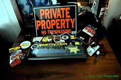 About Your Photographer (Kadia Hall Photography) Tags: nyc composition rainbow laptop cellphone baseballhat humanrights chapstick sunflowerseeds stickerbomb carolinacard kadiahall