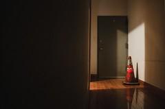 *** (Justin Wolfe) Tags: lighting door city light shadow urban stilllife orange house cinema reflection philadelphia home woof wall night contrast digital canon dark eos hall triangle warm soft alone apartment traffic cone interior citylife spotlight minimal hallway doorway negativespace reflect isolation philly framing minimalism dslr simple cinematic 215 t3i 18mm urbanphotography urbex northphilly f35