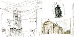 28.02.2013 Place St denis dp (dayisaday) Tags: sketch onlocation