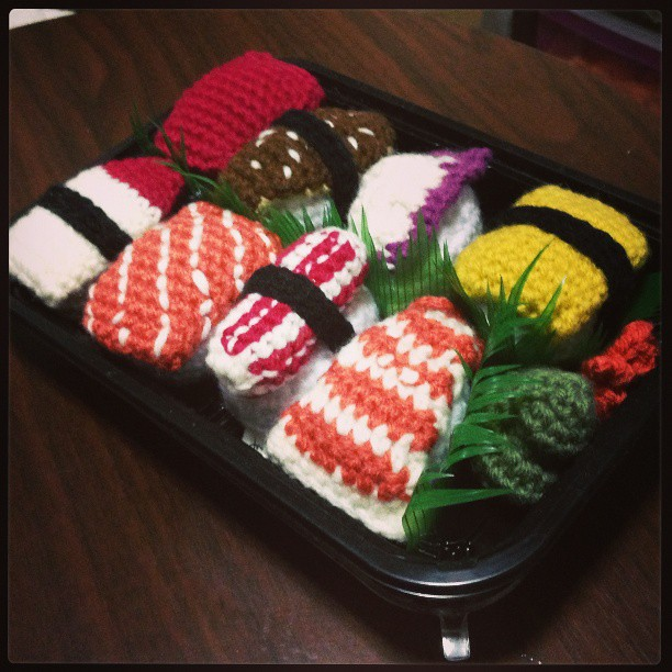 Amigurumi Sushi : The Worlds Best Photos of amigurumi and sushi - Flickr ...
