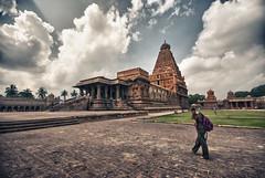 Since 1010 AD (Prabhu B Doss) Tags: india clouds vintage temple sigma wideangle unesco worldheritagesite granite shiva thanjavur hindu lingam 1020 tamil tamilnadu southindia chola tanjore travelphotography koil 0mm incredibleindia periya rajarajachola tamizh hindhu chozha nikond80 prabhub brihadeeswarar prabhubdoss rajarajeswara zerommphotography 0mmphotography