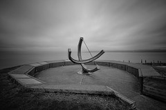 Time Marches On, Tacoma [Explore] (tacoma290) Tags: longexposure morning fog nikon time sundial lee pacificnorthwest tacoma pnw unstoppable metroparks commencementbay jackhydepark tompulford timemarchesontacoma explore13mar13