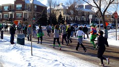 Get Lucky 7K (Jon & Brigid) Tags: winter cold ice minnesota race downtown minneapolis running run mpls brigid mn christianson getlucky brigidchristianson getlucky7k