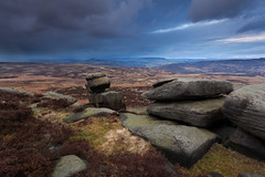 Approaching Storm (Paul Newcombe) Tags: england english clouds countryside nationalpark peakdistrict british peaks grad hitech stanage canon1740l ndgrad 3stop nd09 leadinlines stanageend moscarmoor britnatparks derbyshirestorm