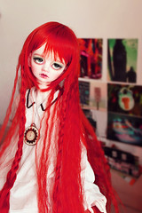 Red as ... (_Monsun_) Tags: doll bjd dim dimdoll bellosse