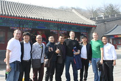 A Picture of My Friend with Your Friend (DanaRane) Tags: china friends greg ben ryan beijing trips greatwall badaling sevenwonders greatwallofchina 2013 2013march