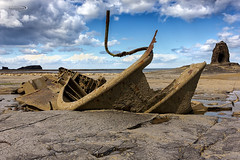 The Admiral (Ian Flanagan) Tags: blue sea water canon ian coastal shipwreck whitby admiral northeast flanagan saltwickbay 550d admiralvontromp 1585mm canon550d ianflanagan
