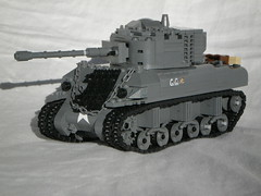 "M4A1(76)W ""Gigi"" (Alred_irely) Tags: lego ww2 m4 sherman 76 m4a1"