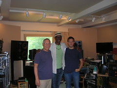 "Keb' Mo' and producer Kyle Lehning • <a style=""font-size:0.8em;"" href=""http://www.flickr.com/photos/62190639@N04/8583208865/"" target=""_blank"">View on Flickr</a>"