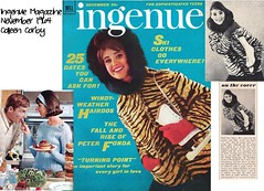 Ingenue, Nov 64 collage, Colleen Corby, Ice Skates (jmbder) Tags: november winter collage vintage 60s scan retro iceskates 1964 wintersports redgloves onthecover 60smodel ingenuemagazine colleencorby