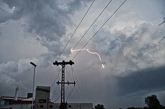 MAK_0580 (Aslam Khan - PK) Tags: storm lightening wheatfields bahawalpur khanewal chiminy