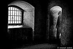 Ghost (emanuelandreis) Tags: past walking secret occult blackandwhite dead life dark terror fear ghost