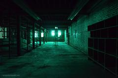 Alien (gregador) Tags: ashland ohio decayed abandoned industry urbex urbanexploring urbanexploration green fiberglass glow