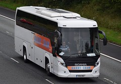 YR16BNZ  Harry Shaw, Binley (highlandreiver) Tags: yr16bnz yr16 bnz harry shaw coaches binley coventry scania touring bus coach m6 wreay carlisle cumbria