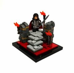 Guilds of Historica - Lord Vorn (Merc4Hire.) Tags: lego guilds historica nocturnus castle custom vignette