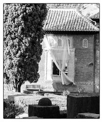 (Femme Peintre) Tags: haus alhambra granada andalusien spanien schwarzweis