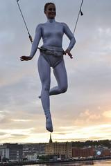 en pointe (conall..) Tags: ballet balloon sky derry londonderry foyle maritime festival peacebridge