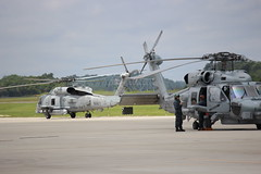 703, Navy MH-60R Seahawk, HSM-74, Swamp Fox, North Myrtle Beach, South Carolina, Memorial Day 2016, (4) (hondagl1800) Tags: outdoor aircraft navy southcarolina helicopter vehicle usnavy seahawk 703 northmyrtlebeach mh60r swampfox mh60rseahawk hsm74 memorialday2016 navymh60rseahawk