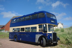 Shades of Blue (Dave Roberts3) Tags: bus blue berry vale glamorgan leyland titan sky wales coth