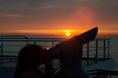 Sunset_2 (Mol_PMB) Tags: malmo berlin sleeper train ferry sassnitz trelleborg