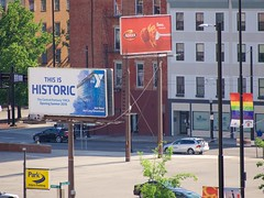 Downtown Billboards (Travis Estell) Tags: billboard cbd centralbusinessdistrict cincinnati downtown downtowncincinnati ohio