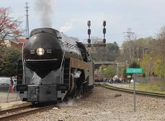 Biltmore (JayLev) Tags: nw asheville biltmore 611 steam engine train cantilever signals